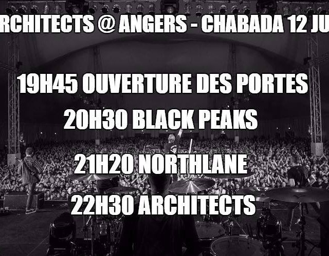 Aprs avoir jou au downloadfestival ce weekend architects northlane ethellip