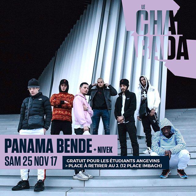 Bientt panamabende au Chabada Angers villedangers offre une placehellip