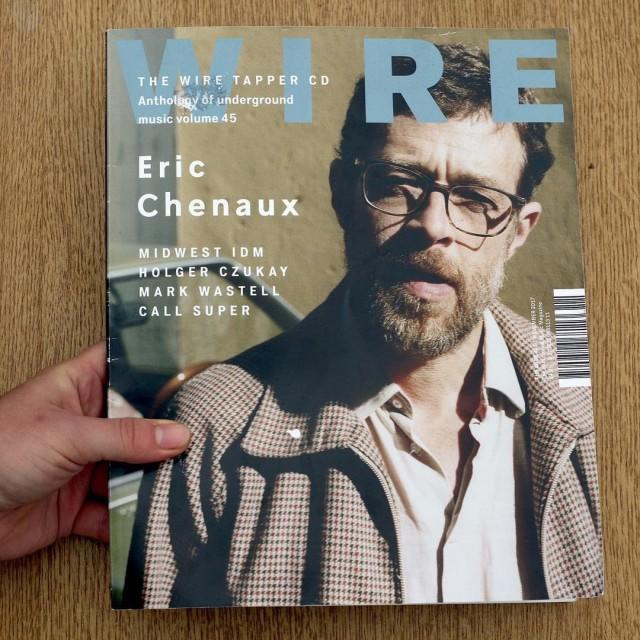 Le guitariste et chanteur canadien ericchenaux en couverture du magazinehellip