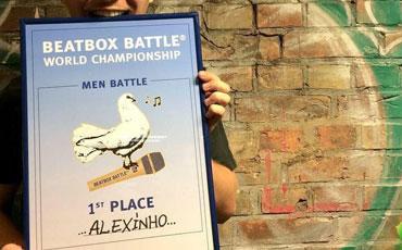 Alexinho, champion du monde!