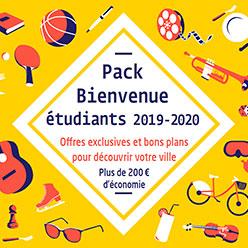 Pack Bienvenue de la Ville d'Angers