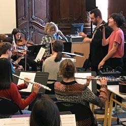Création musicale au lycée J. du Bellay